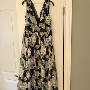 Vera Wang Floral Prom Dress size 6